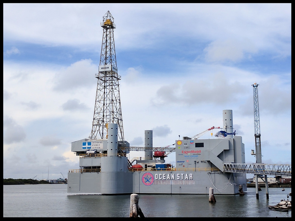 Ocean Star Offshore Drilling Rig Museum and Education Center, Galveston, Texas.
