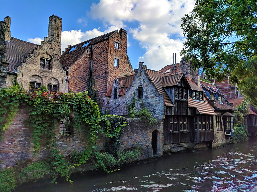 View from St Bonifacius Bridge, Bruges