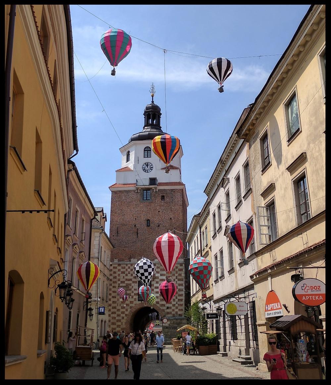 Krakow Gate, Lublin Old Town, Poland