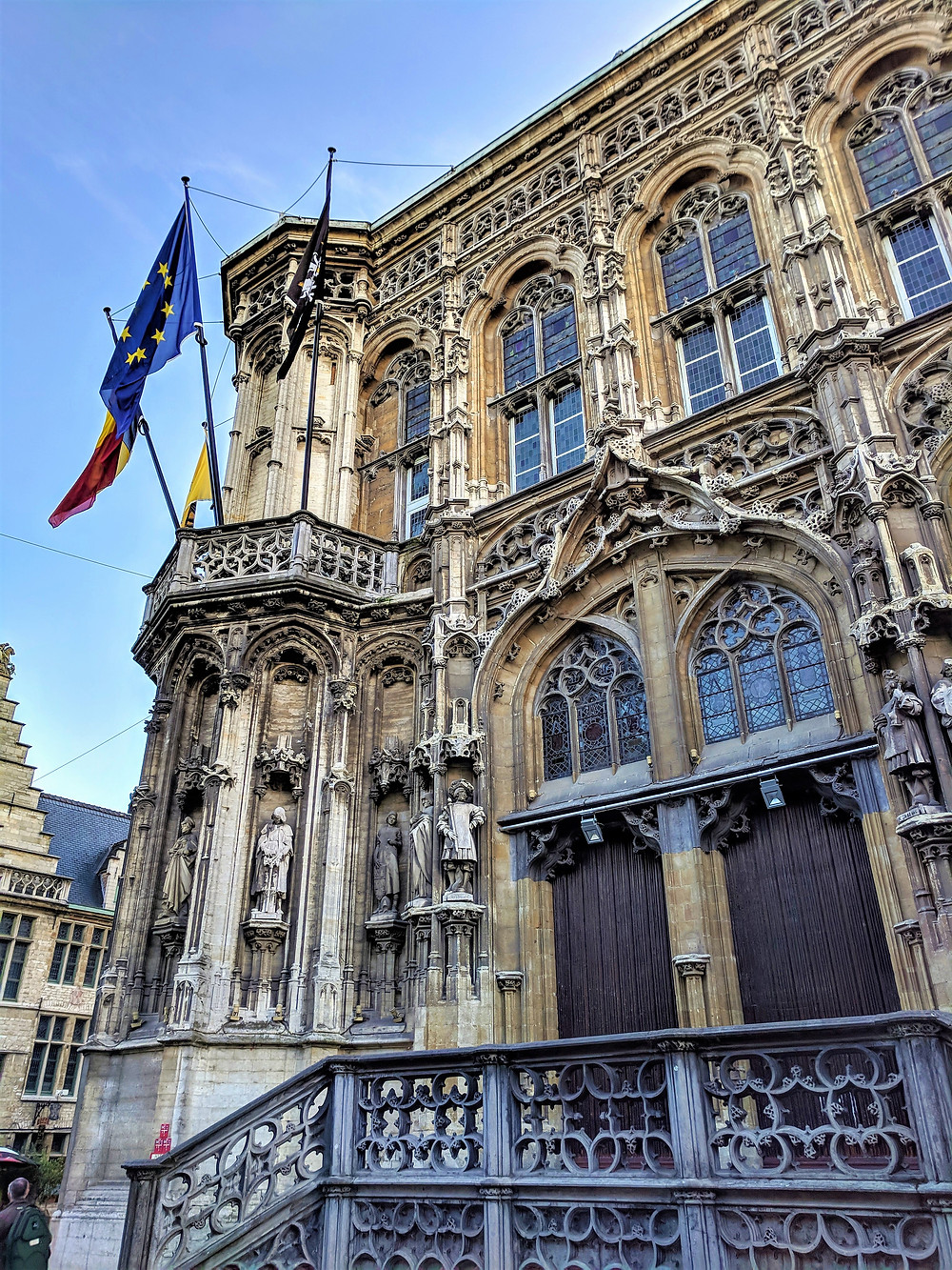 Town Hall, Ghent.