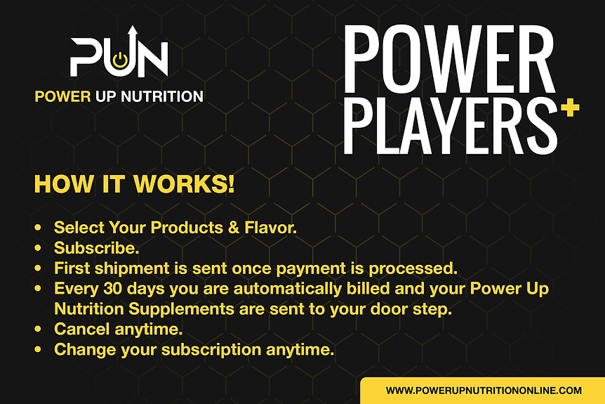 Power Player Plus Program