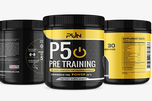 P5 Power Of 5 Pre Training Formula