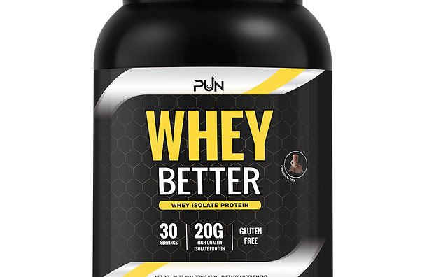 Whey Better Protein Isolate