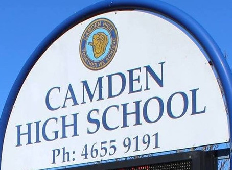 Positive for COVID-19 - Camden High School closed