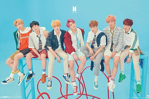 "BTS Bangtan Boys ""Jungle Gym"" (poster)"