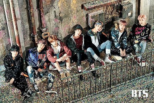 "BTS Bangtan Boys ""Confetti"" (poster)"