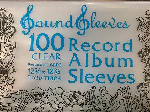 """12"""" Album Sleeves (100pk)"""