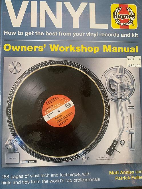 VINYL: Owners' Workshop Manual (Book)