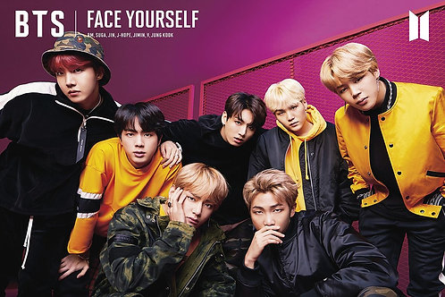 BTS Bangtan Boys Face Yourself (poster)