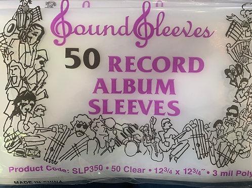"""12"""" Album Sleeves (50pk)"""