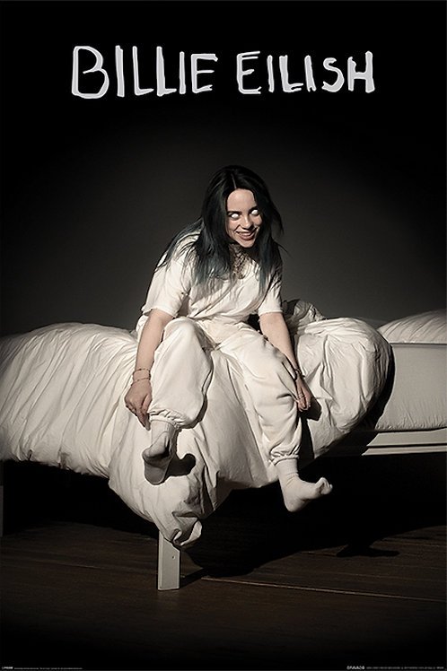 Billie Eilish black (poster)
