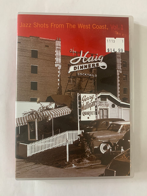Jazz Shots From the West Coast, Vol. 1 (DVD)