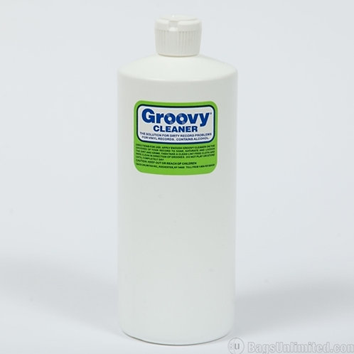 Groovy® Vinyl Record Cleaning Fluid (32oz)