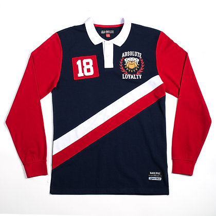 BF8407 L/S RUGBY POLO