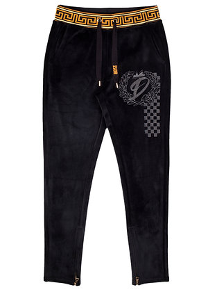 DS9205 HEAVY VELOUR PANTS
