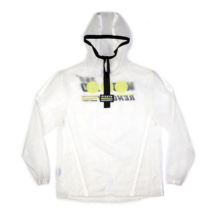 DS9101 CLEAR FABRIC/ WATER PROOF TAPE ANORAK JACKET