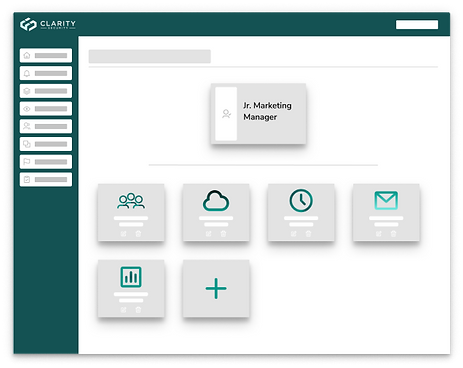 Illustration of an application screen