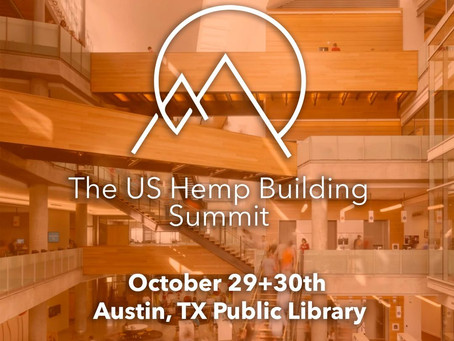 Hempitecture is Excited to Announce: 3rd Annual Hemp Building Summit