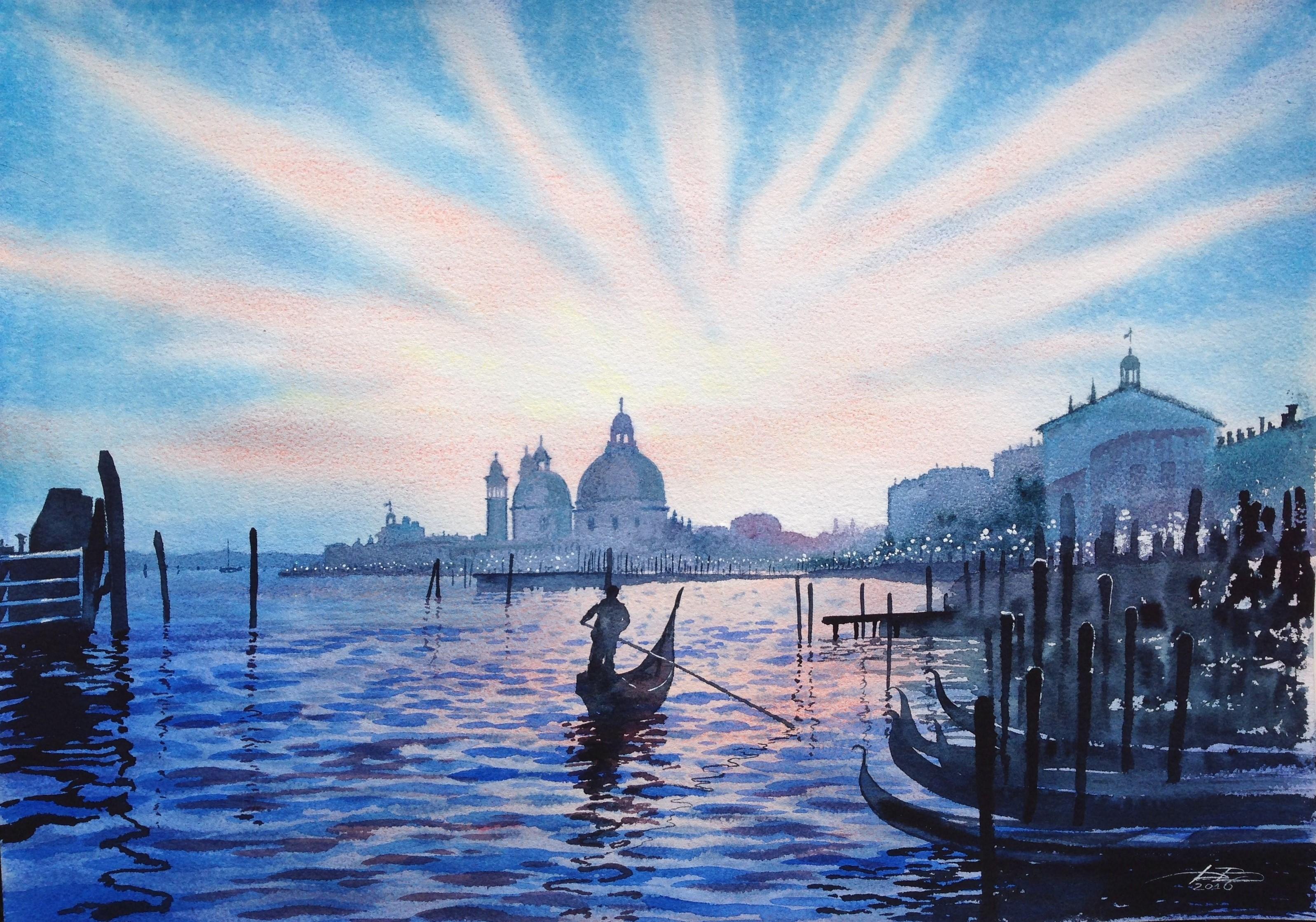 голубая венеция