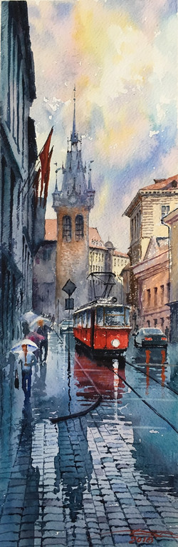 Wet Prague
