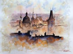 Fairytale city. Old Prague
