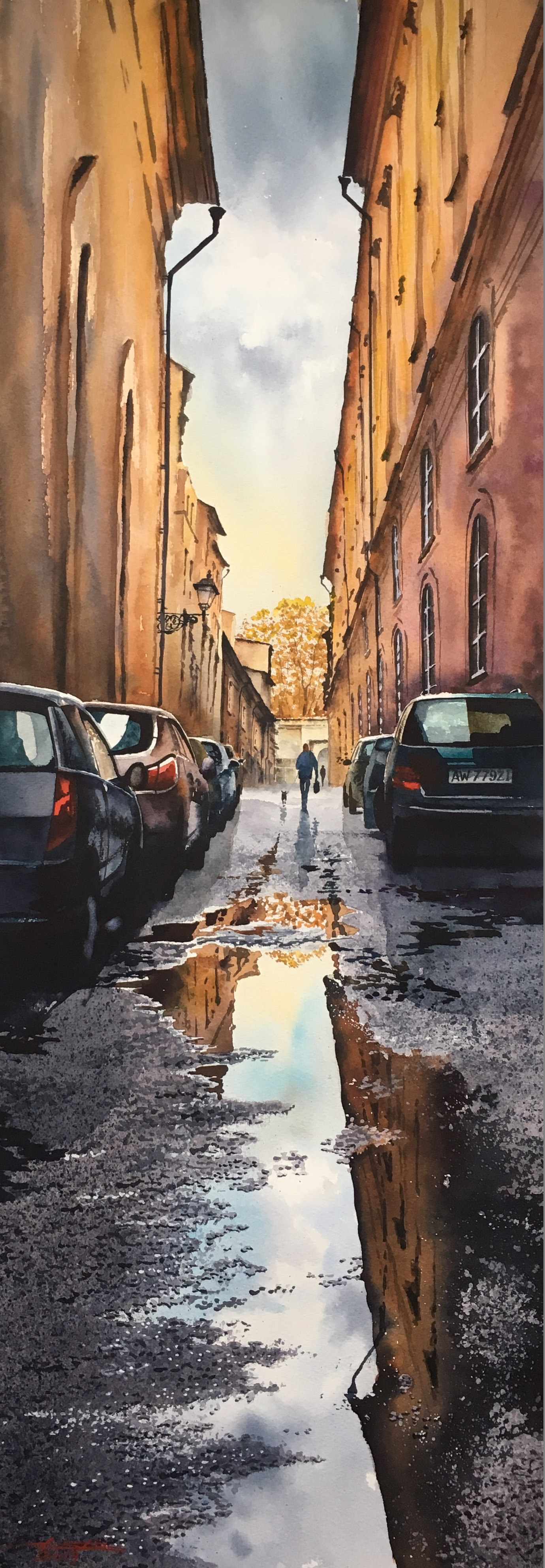 Rainy day/ Rome/Italy