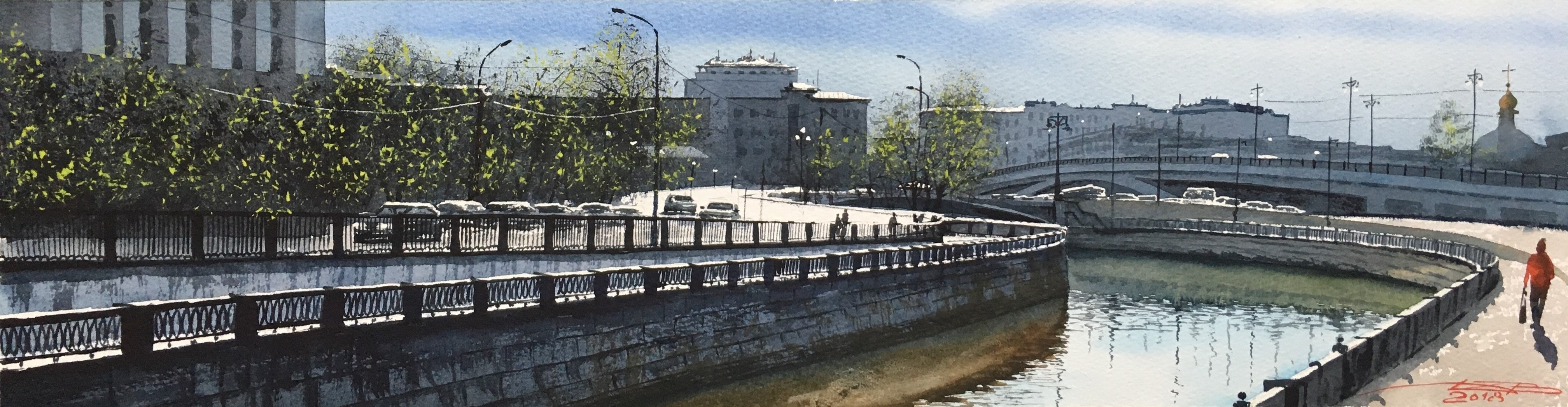 Устье реки Клязьмы. Москва