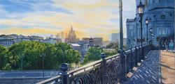 Патриарший мост. Москва.