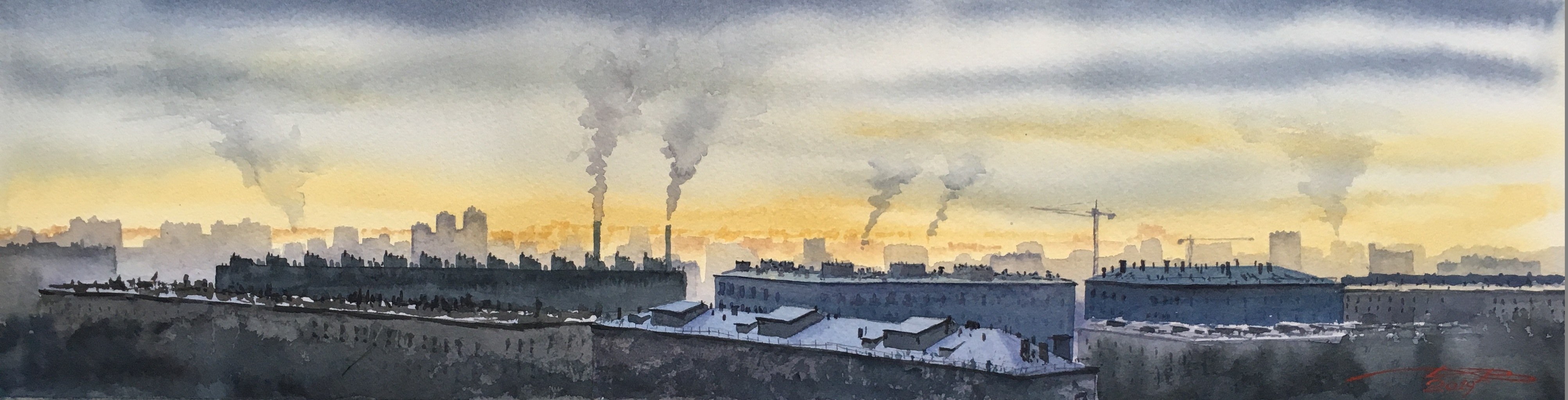 Москва мёрзнет
