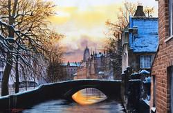 Winter evening in Brugge