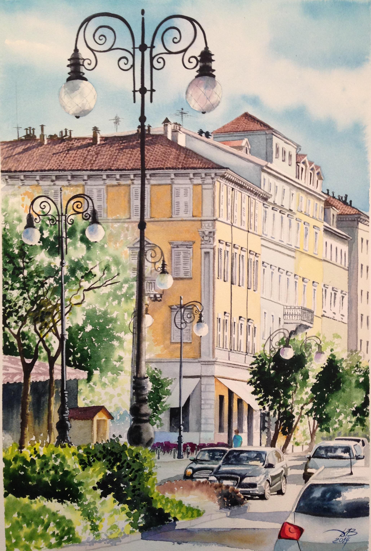 Триест. Италия