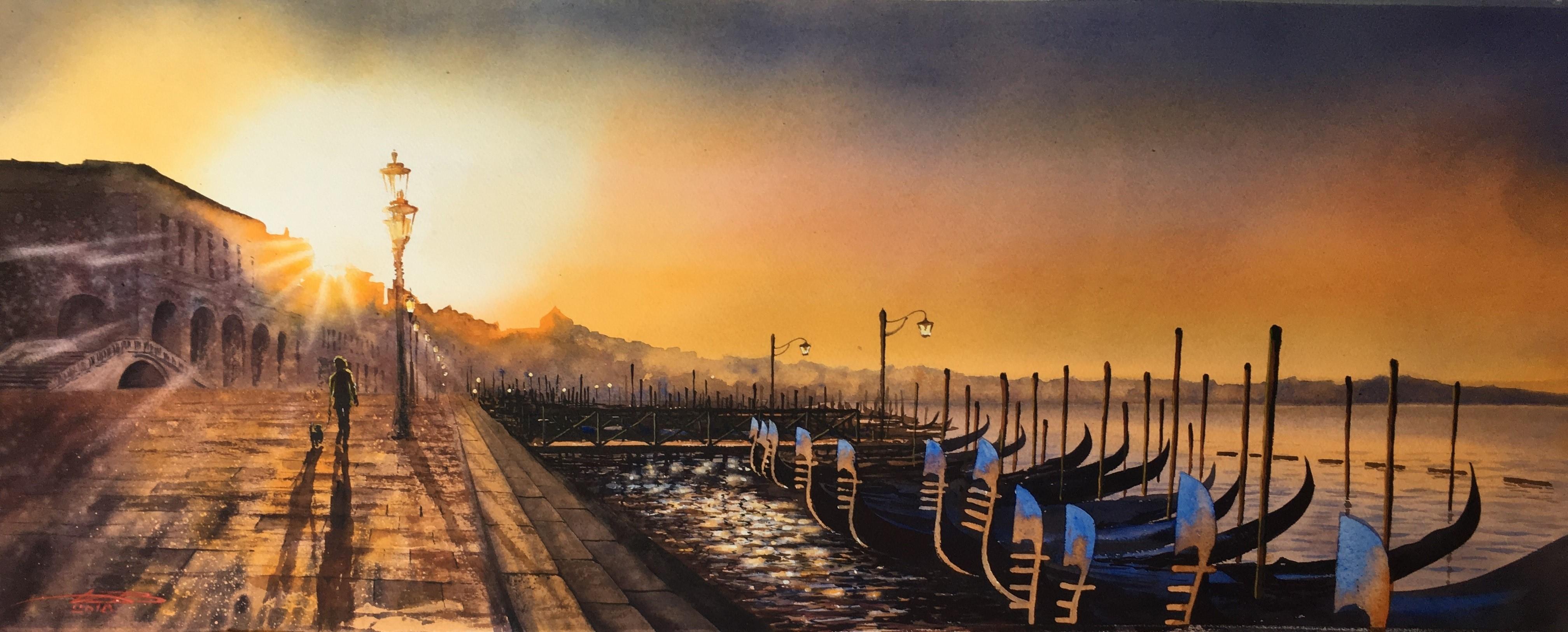 Venice sunrise.