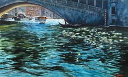 Sunny day. Каналы Венеции