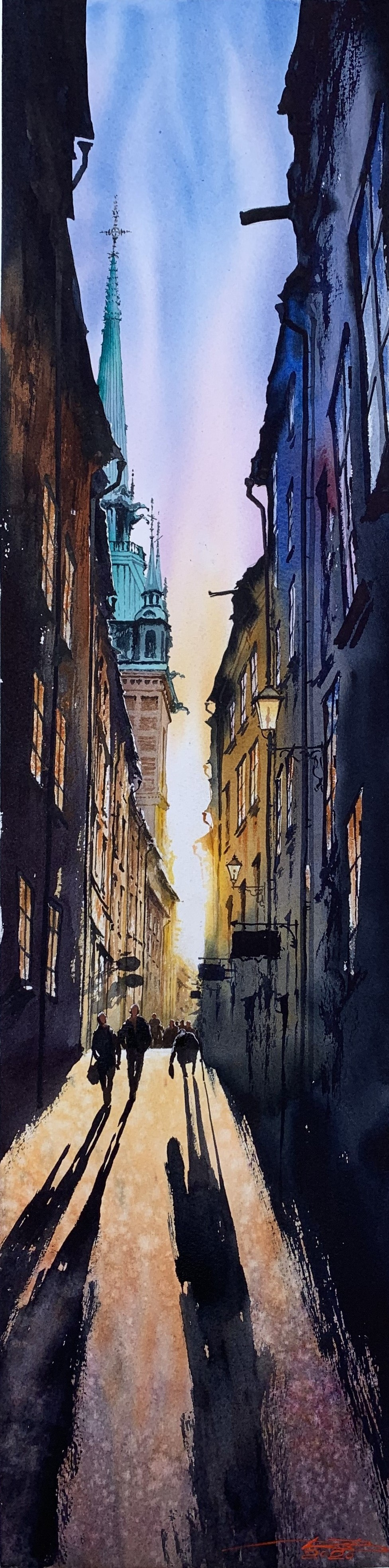 Shadows. Stockholm.