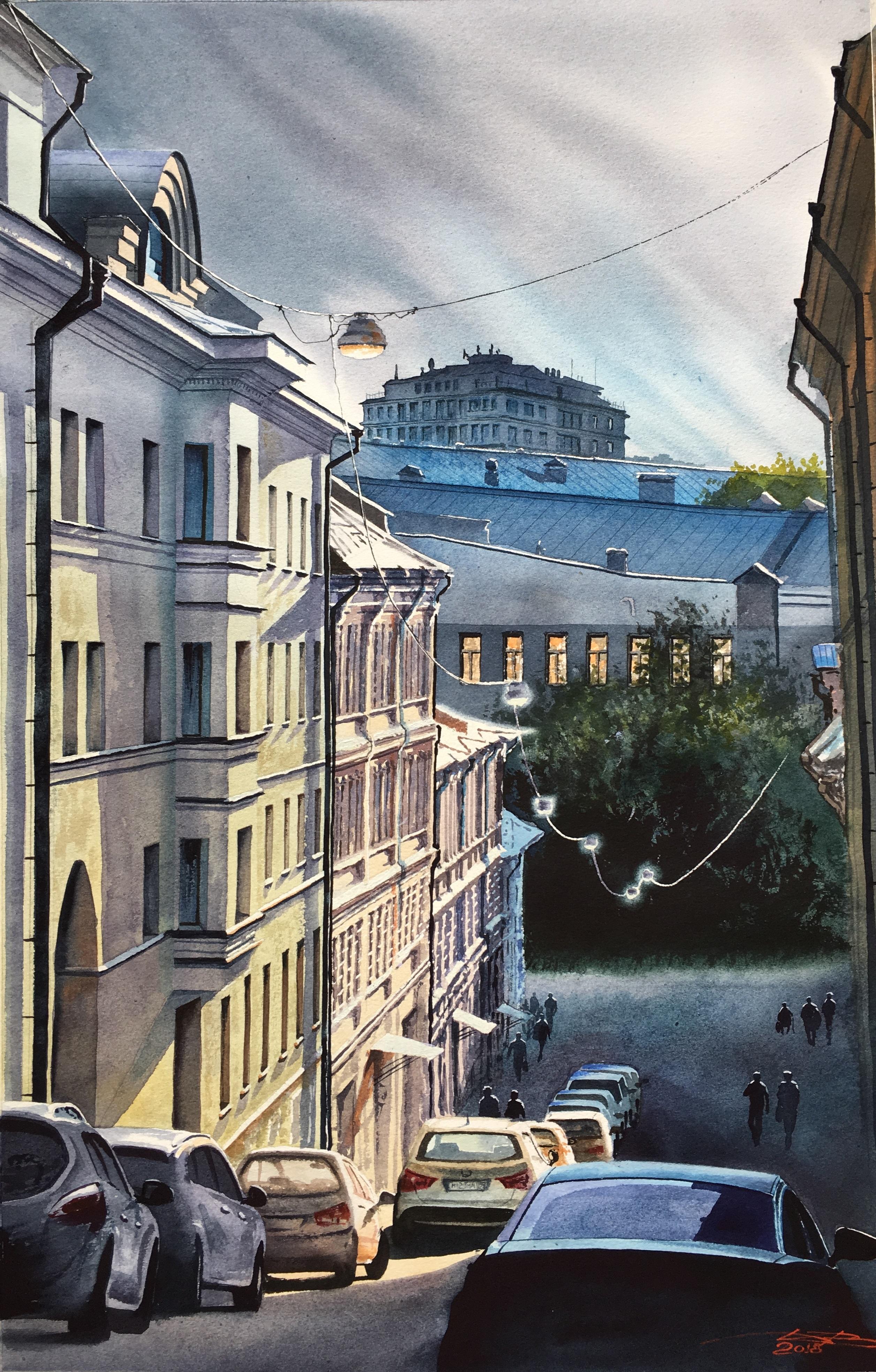 Нижний Кисельный переулок