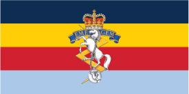 RCEME Flag with crest.