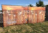 Custom printed fence mesh for Illuminate Barrie.