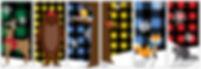 Woodland Creatures Street Banner designs