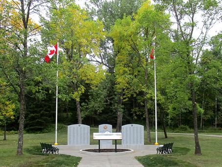 CEF Civic Memorial in Thunder Bay