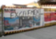 Custom printed fence mesh for Casino Rama.