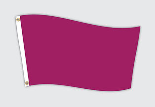 Custom printed flag.
