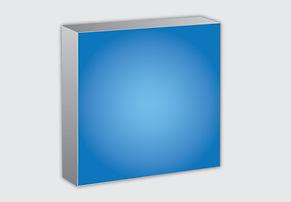 Illustration of a back lit lightbox.