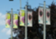 Street banners for Royal Botanical Gardens done by Flags Unlimied.