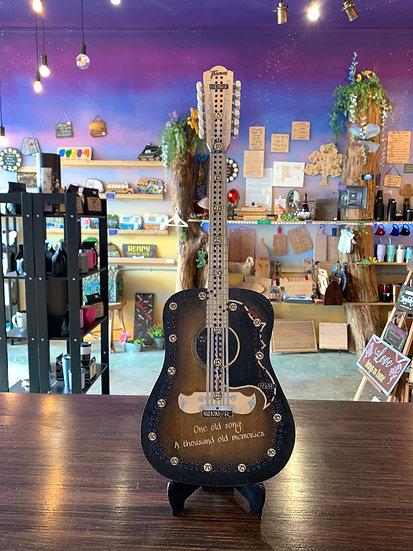 Framus guitar Crib board/Cribbage Board.