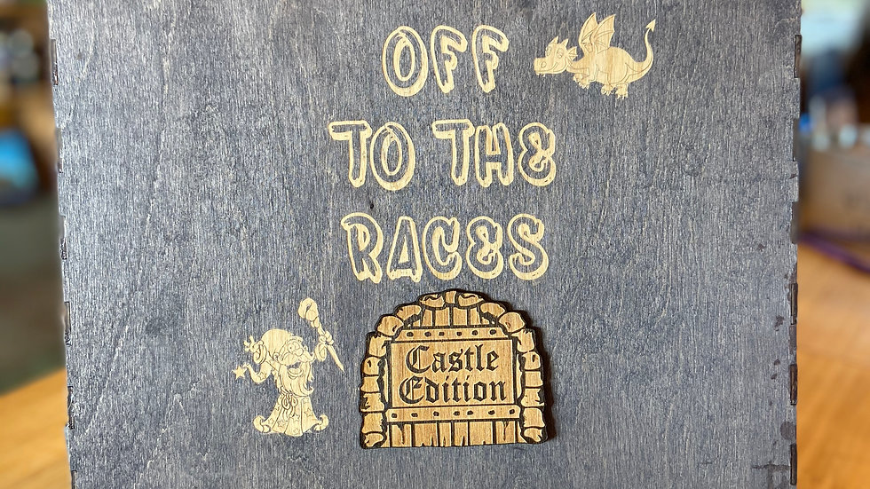 """Off To The Races  """"Castle Edition"""""""