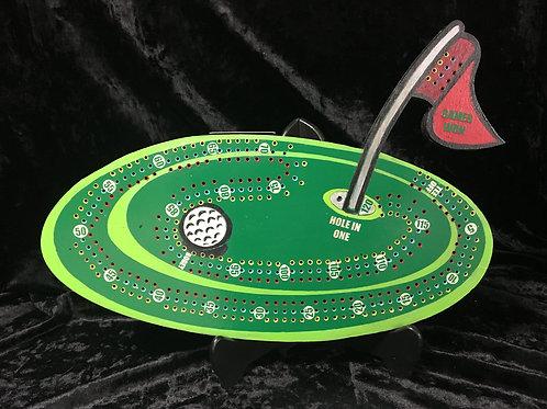 Golf Crib board/Cribbage Board