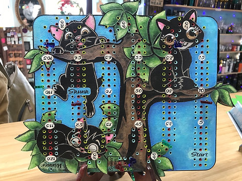 Cats in a tree Cribboard