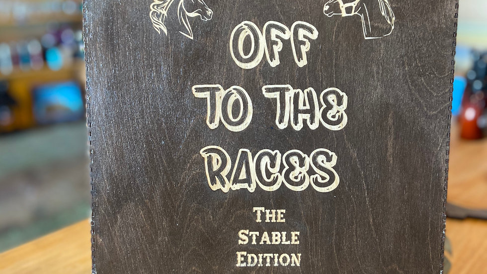 """Off to the races """"Stable Edition"""""""