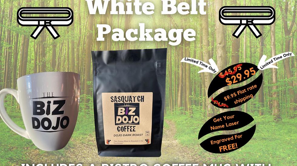 The Biz Dojo White Belt Coffee Package