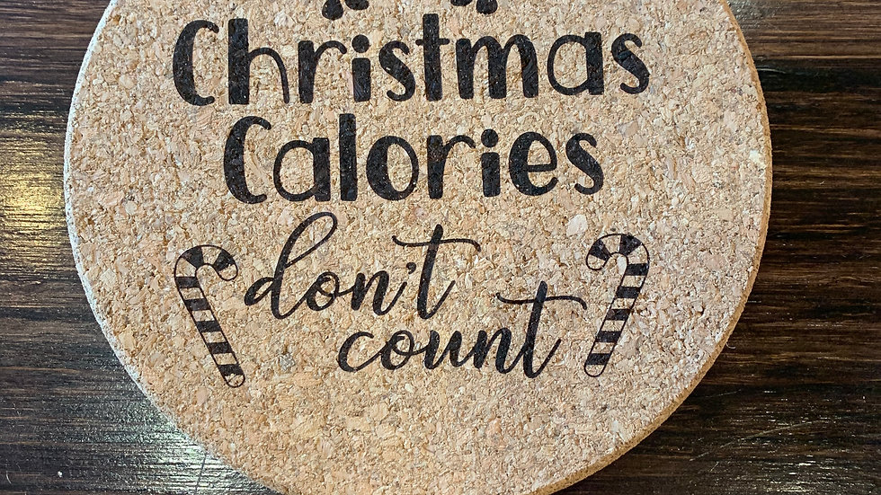 Cork Christmas hot pots PERSONALIZATION